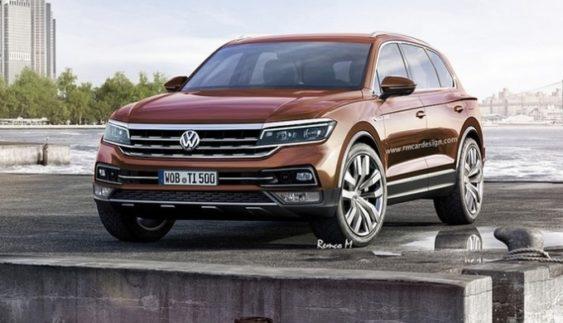 Оновлений Volkswagen Touareg оснастять дизельним двигуном