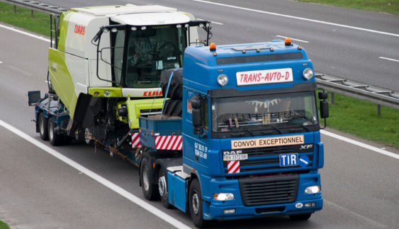 Як перевезти негабаритний вантаж автотранспортом?