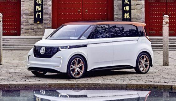 Volkswagen презентував електромобіль Budd-e