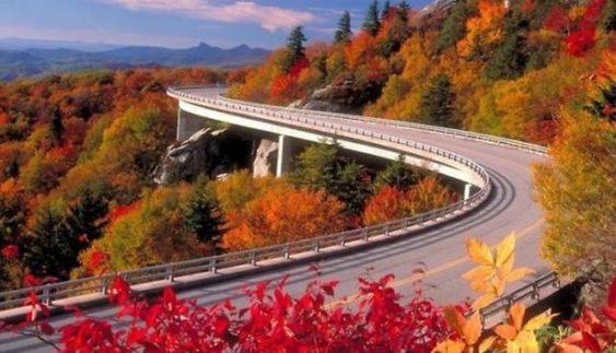 Опублікували знімки найкрасивіших автотрас світу