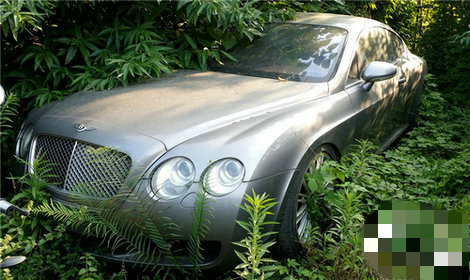 На звалищі знайшли Bentley і Land Rover (Фото)