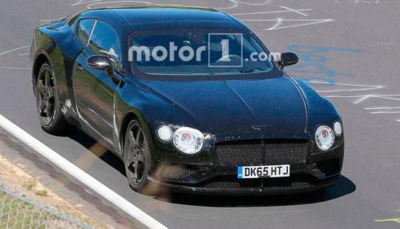 Купе Bentley Continental GT вивели на випробування (Фото)
