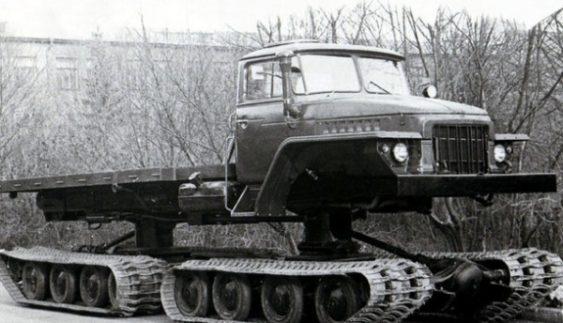 НАМИ-0157 – унікальна гусенична вантажівка