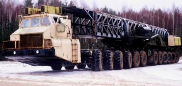 МАЗ-7907 – єдина машина в світі з 24-ма ведучими колесами