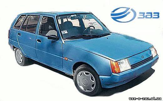 ЗАЗ-1105 «Дана» – міг би конкурувати з VW Polo