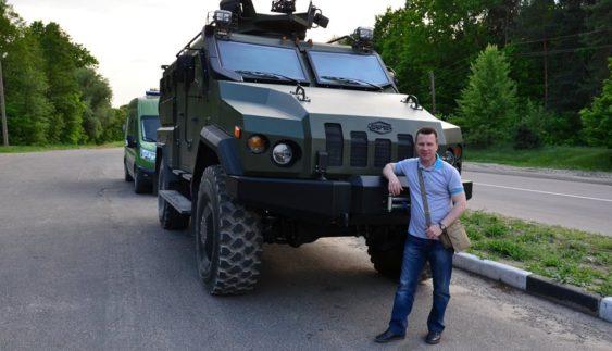 В Україні представили оновлену версію нового бронеавтомобіля «Варта» (Фото)