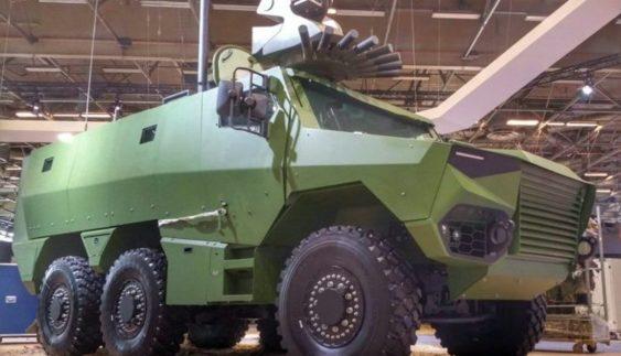 З'явилися перші фото новітнього бронетранспортера Griffon