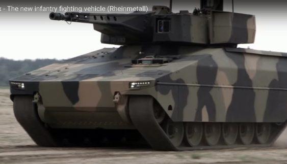 Продемонстрували нову бойову машину «Рись» (Відео)