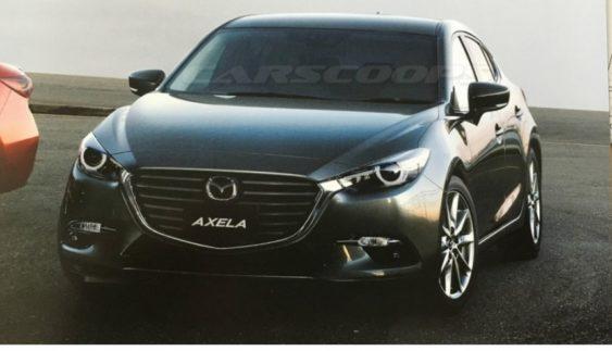 """У Мережу """"витекли"""" фото оновленої Mazda 3"""