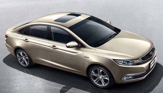 Geely представила новий седан Emgrand GL
