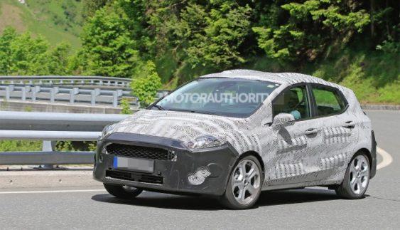 У мережі з'явилися зображення Ford Fiesta 2018