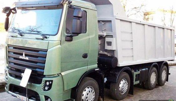 У Києві відбудеться прем'єрний показ самоскида МАЗ-6516М9 (Фото)