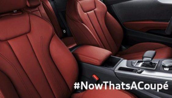 Компанія Audi показала салон нового покоління купе Audi A5
