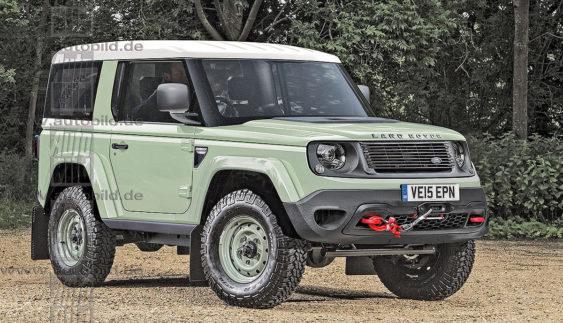 Новий Land Rover Defender: він може стати таким