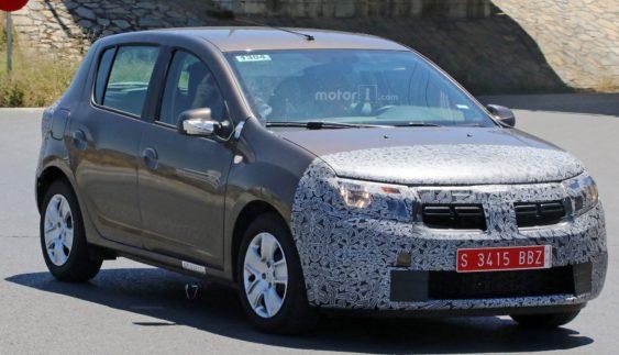 Появилися зображення оновленого Renault Sandero