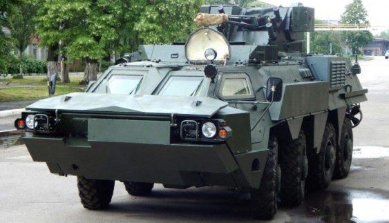 Україна підготувала новий варіант бронетранспортера БТР-4
