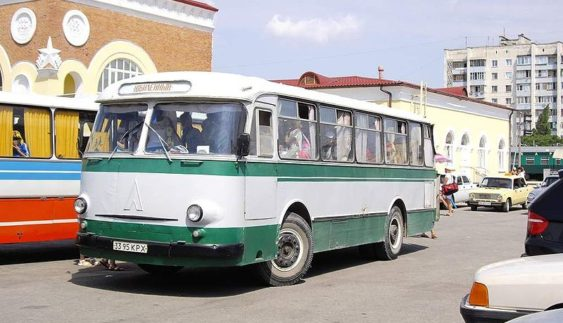 ЛАЗ-965 – унікальний автобус, що пробув рекордний час на конвеєрі
