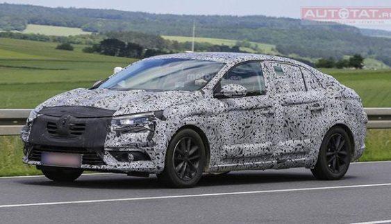 Опубліковані знімки нового седана від Renault