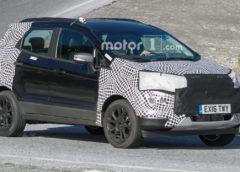 Оновлений Ford EcoSport помітили на дорогах (фото)
