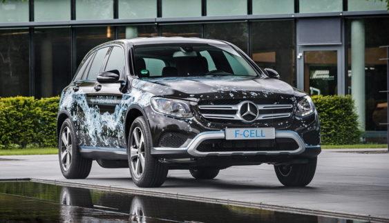 Mercedes-Benz розсекретив перший водневий кросовер компанії