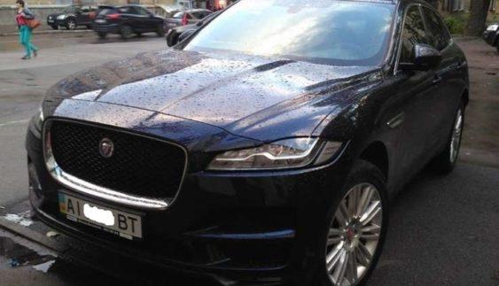 В Україні помічений новий кросовер Jaguar F-Pace (Фото)