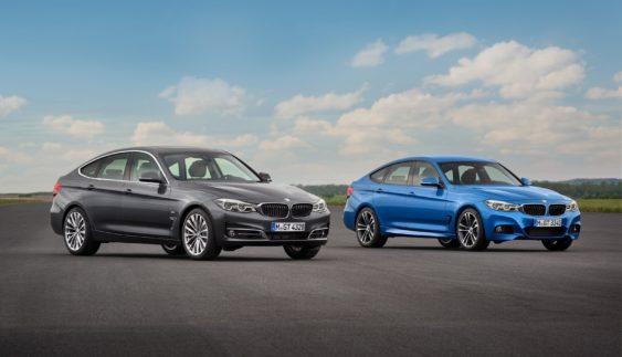 Представили оновлений BMW 3 GT (Фото)