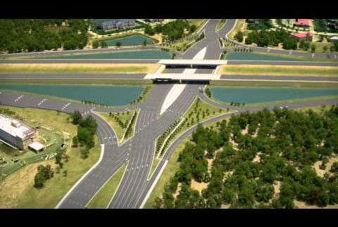 Американці створили новий тип дорожніх розв'язок (Відео)