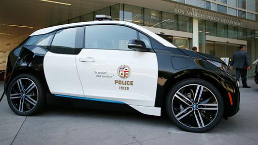 Поліція пересідає на електромобілі BMW i3 (Фото)