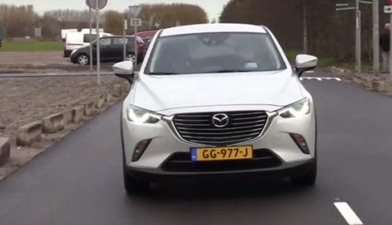 Оновлену Mazda3 показали в інтернеті (Фото)