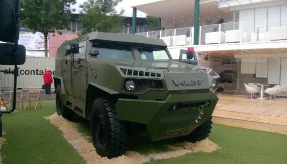 Білоруси представили власний бронеавтомобіль (Фото)