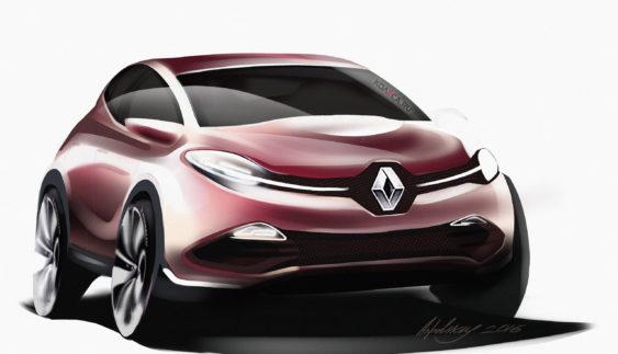 Опубліковані перші зображення нового крос-купе Renault