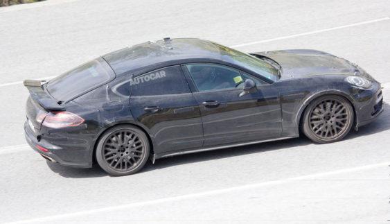 Маленька Porsche Panamera: тести вже почалися (фото)
