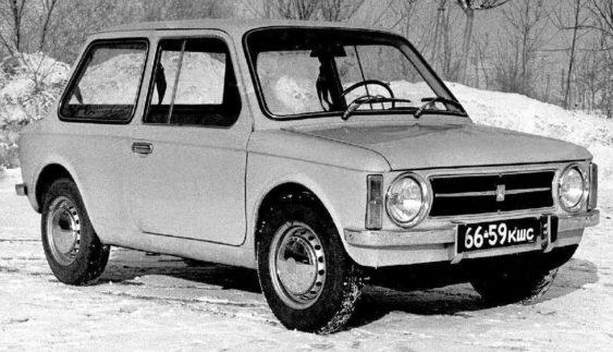 BAЗ-Э1101 – прототип, дизайн якого розробили, а не скопіювали