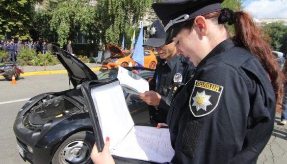 Назвали причини для зупинки авто патрульними