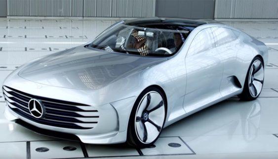 Mercedes EV – конкурент Tesla Model S