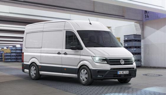 Volkswagen розсекретив Crafter нового покоління