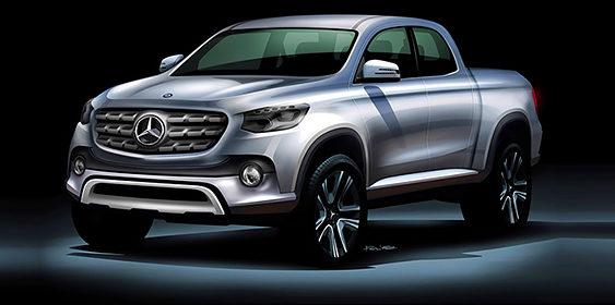 Mercedes готує до запуску перший пікап GLT (ФОТО)