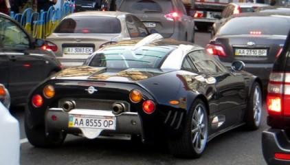 У Києві засвітився другий голландський суперкар ручної збірки (Фото)