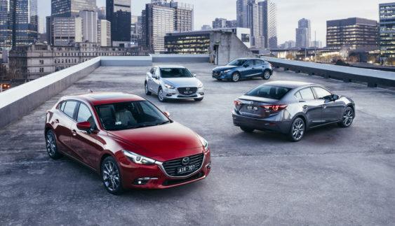Японці розсекретили оновлену Mazda 3 (Фото)