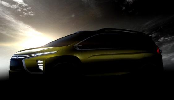 Mitsubishi представила зображення нового кросовера