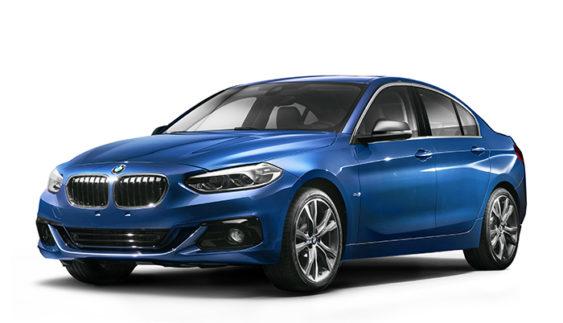 BMW розсекретила седан 1-Series
