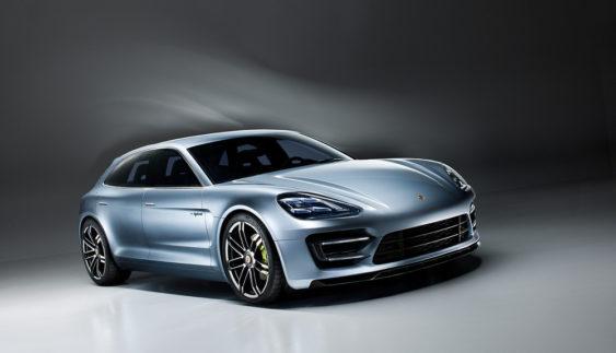 Універсал Porsche Panamera покажуть на автосалоні в Парижі
