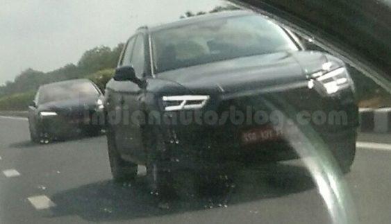 В Інтернеті з'явилися шпигунські фото нового покоління Audi Q5