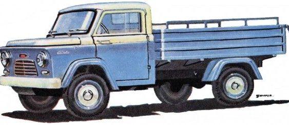 """КМЗ """"Kиїв"""" – унікальний прототип міні-вантажівки (Фото)"""