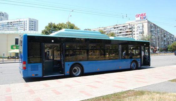 У Києві презентували унікальний автобус на метані (Відео)
