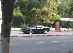 В Україні помітили рідкісний Dodge Challenger (Фото)