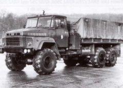 КрАЗ-260 – потужна вантажівка для безнадійного бездоріжжя