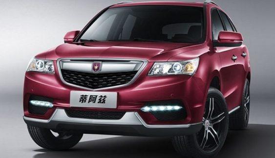 Китайці зробили клон кроссовера Acura MDX
