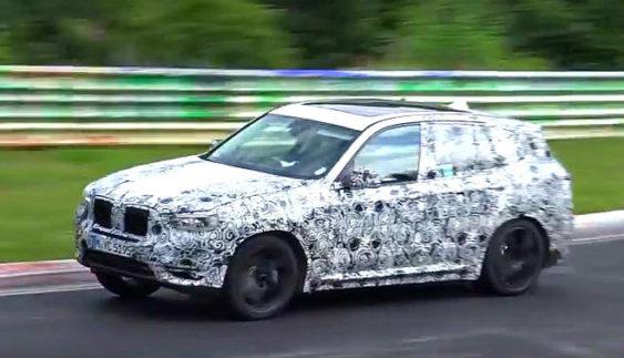 Новий BMW X3 M протестували на Нюрбургринзі (Відео)