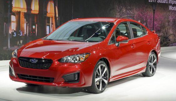 Нове покоління Subaru Impreza презентували в Японії